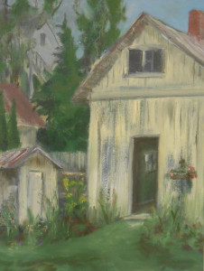 Carriage House - Oil on Canvass